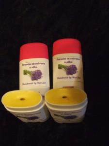 Prirodan dezodorans u stiku - na bazi voska, sode bikarbone i eteričnog ulja lavande
