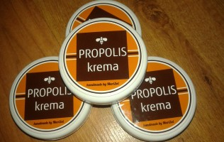 Propolis krema - simbol snage i oštrine, istovremeno čuva zdravo tkivo i leči obolelo