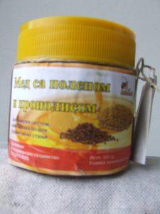 Mešavina meda, polena i propolisa