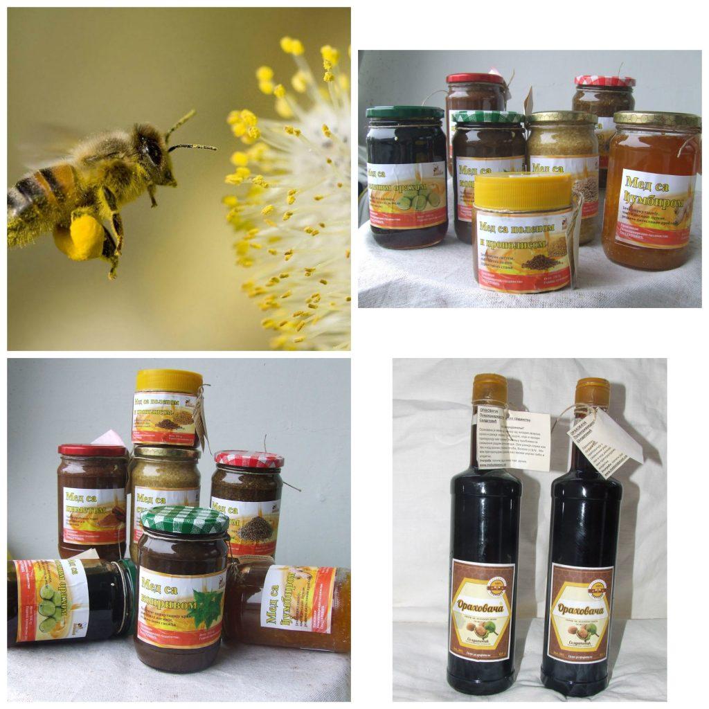 Mešavine meda i lekvitog bilja kao pomoćna lekovita sredstva
