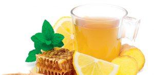 Čaj od đumbira zaslađen medom, uvek dobro dođe