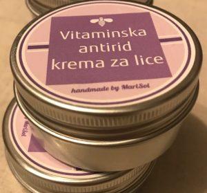 Vitaminska antirid krema