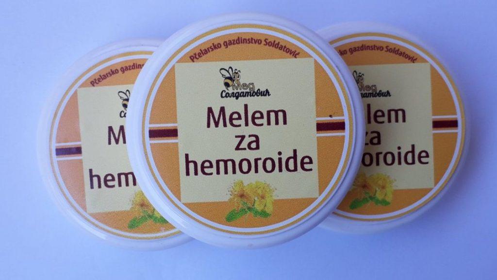 Melem protiv hemoroida